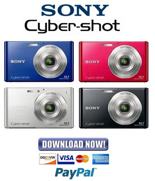 Pay for Sony Cybershot DSC-W330 Service Manual & Repair Guide