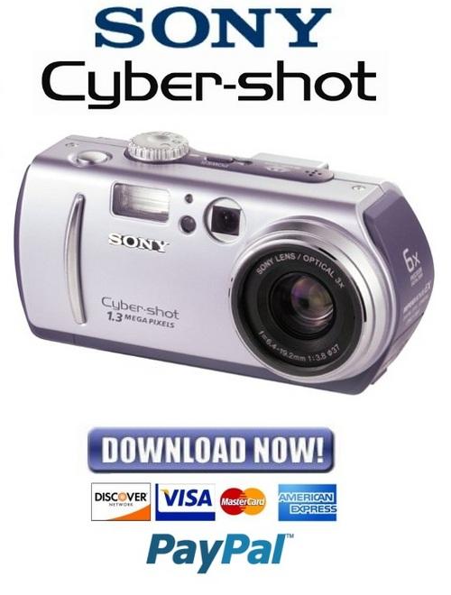 Sony Cybershot Dsc P30   P50 Service Manual  U0026 Repair