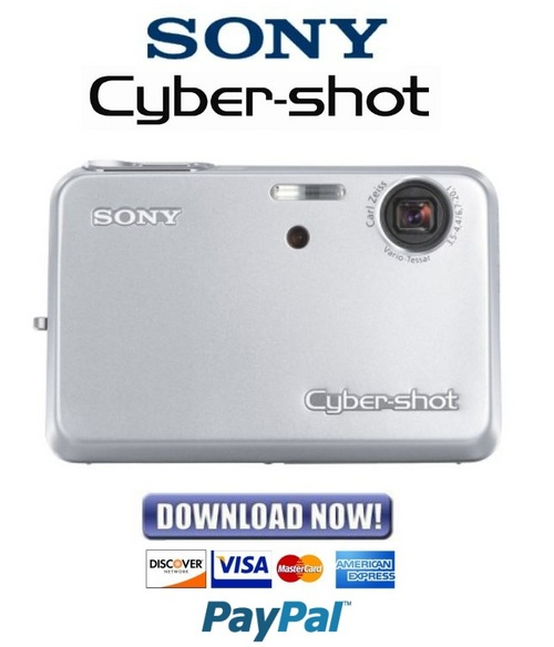 Download Sony dsc h50 service manual