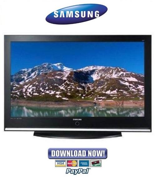 samsung plasma tv manual pdf