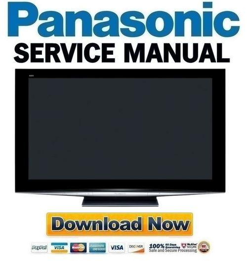 panasonic th 50pz800u service manual repair guide download manu rh tradebit com panasonic viera th-50pz800u manual panasonic th-50pz800a manual