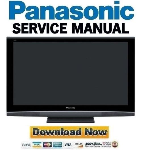 Pay for Panasonic TH-50PZ80U Service Manual & Repair Guide