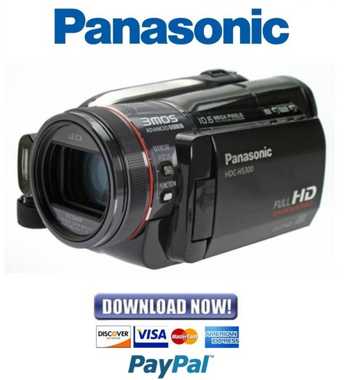 panasonic hdc hs300 series service repair manual. Black Bedroom Furniture Sets. Home Design Ideas