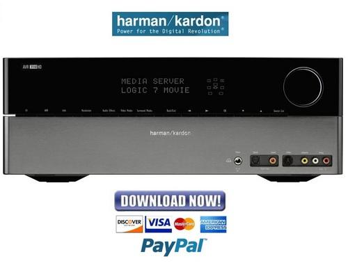 Harman Kardon Avr3550hd Service Manual  U0026 Repair Guide