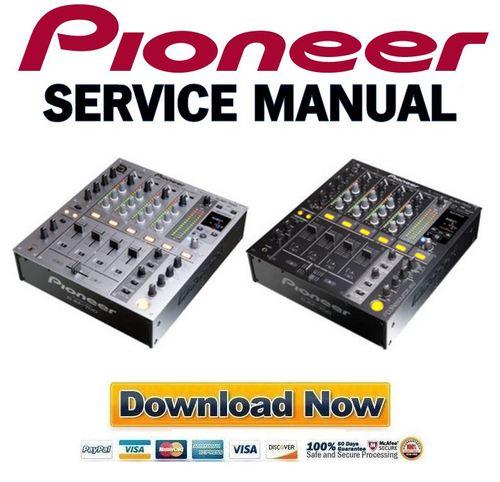 pioneer djm 700 service manual repair guide download manuals a rh tradebit com pioneer service manual#deh-2100 lb pioneer service manual vsx-453s