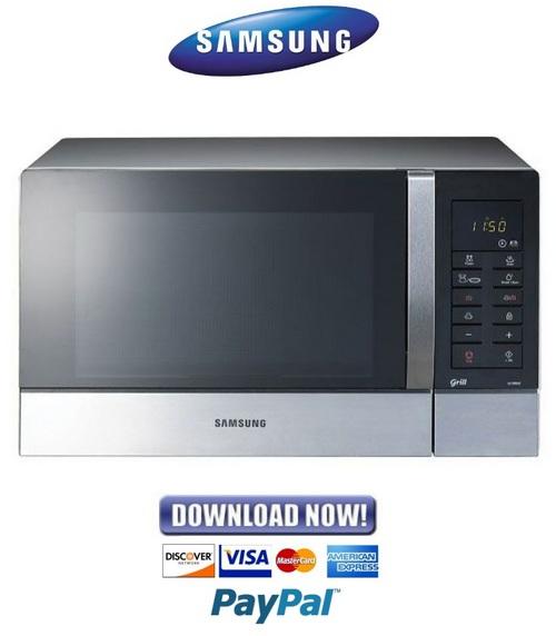 samsung ge89mst service manual repair guide download manuals a rh tradebit com samsung oven owner's manual samsung microwave oven service manual pdf