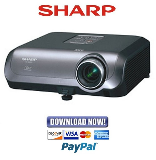 Pay for Sharp XG-MB50X Series Service Manual & Repair Guide