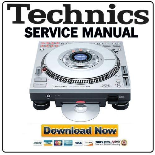 Technics SL-DZ1200 Service Manual & Repair Guide