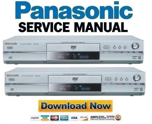 panasonic dmr e30 t3030 series service manual repair guide down rh tradebit com Panasonic DVD Recorder DMR E65 Panasonic Professional DVD Recorder