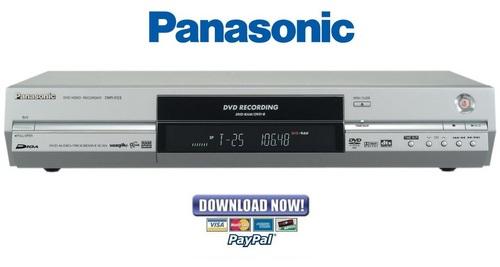 panasonic dmr e53 e55 series service manual repair guide downlo rh tradebit com Panasonic DMR EZ485V DVD Recorder VCR Combo Panasonic Remotes for DVD and VHS Recorder