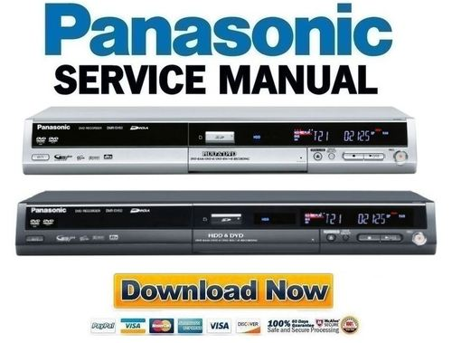 panasonic dmr eh50 eh52 service manual repair guide download rh tradebit com Panasonic DMR- EZ48V panasonic dmr-eh50 manual