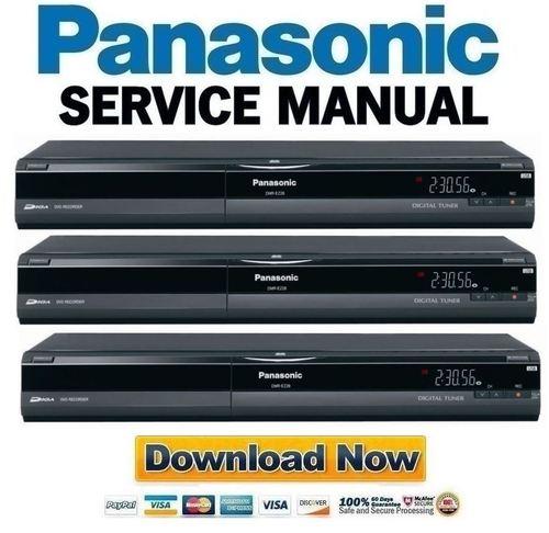 panasonic dmr ez28 ez28p ez28pc service manual repair guide downl rh tradebit com Recorder Sale DVD Panasonic Dmr -Ez28for panasonic dvd recorder dmr-ez28 user manual
