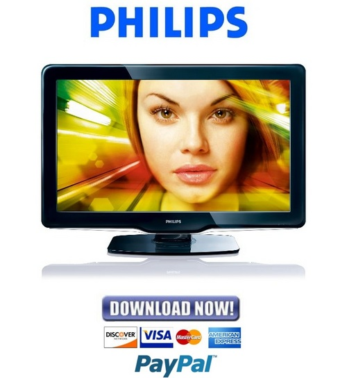 Pay for Philips 40PFL3805D Service Manual & Repair Guide
