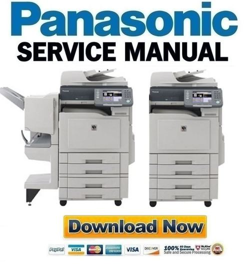 panasonic dp c322 c262 service manual repair guide download m rh tradebit com Vintage Panasonic Copier Copier Technician