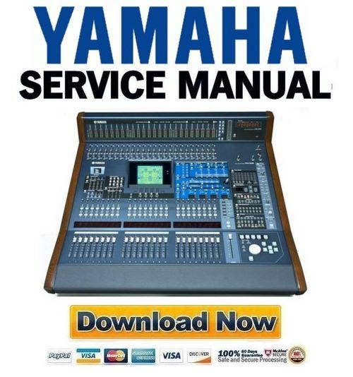yamaha dm2000 mb2000 sp2000 mixer service manual repair guide d. Black Bedroom Furniture Sets. Home Design Ideas