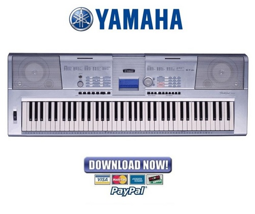 Pay for Yamaha DGX 203 + 205 Keyboard Service Manual & Repair Guide