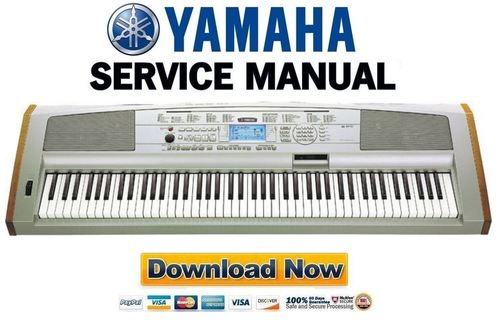 Yamaha dgx 500 keyboard service manual repair guide for Yamaha rx v1600 manual