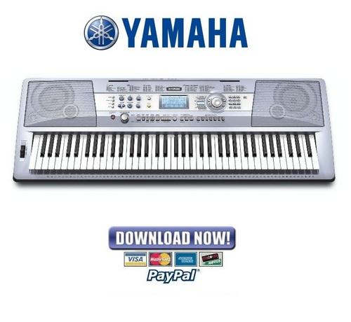 Dgx  Yamaha Manual