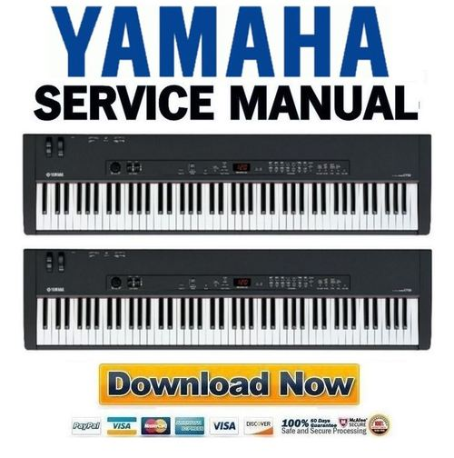 yamaha cp33 stage piano service manual  u0026 repair guide