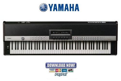 Yamaha cp1 stage piano service manual repair guide for How to repair yamaha keyboard