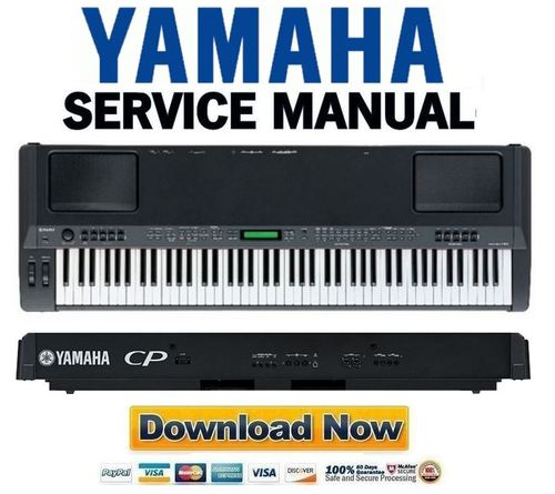 Yamaha CP300 Stage Piano Service Manual & Repair Guide