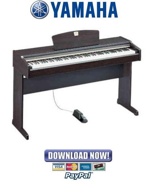 Pay for Yamaha Clavinova CLP-110 Piano Service Manual & Repair Guide