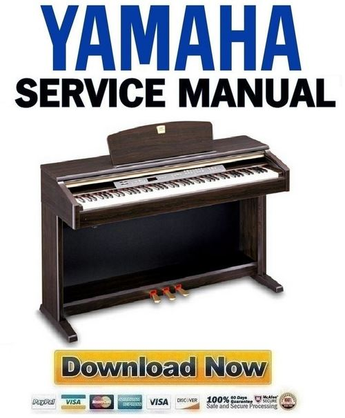 yamaha clavinova clp 120 piano service manual repair