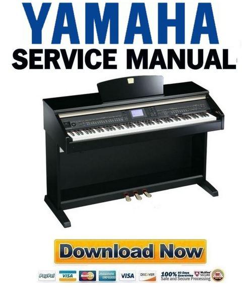 Yamaha Clavinova Cvp  Service Manual