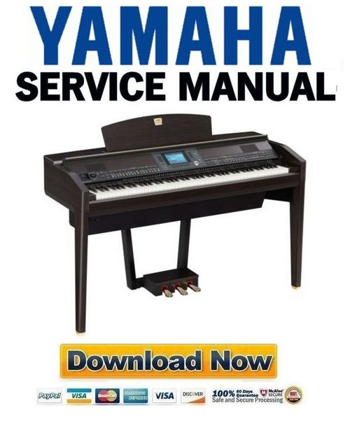 yamaha clavinova cvp 505 505pe 505pm service manual repair guide rh tradebit com yamaha clavinova manual download yamaha clavinova user manual
