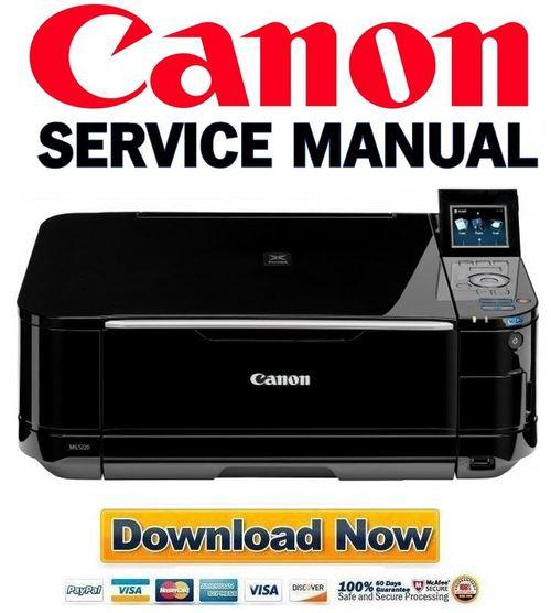 Canon Pixma Mg5220 Service Manual  U0026 Repair Guide   Parts List Catal