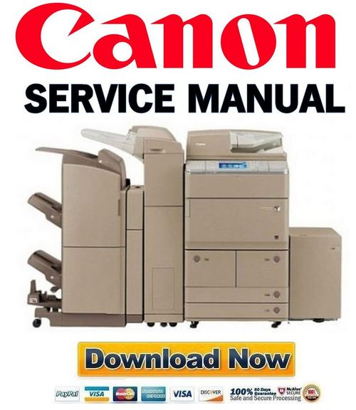 Pay for Canon imageRUNNER ADVANCE iR 6075 6065 6055 Service Manual & Repair Guide + Parts List Catalog