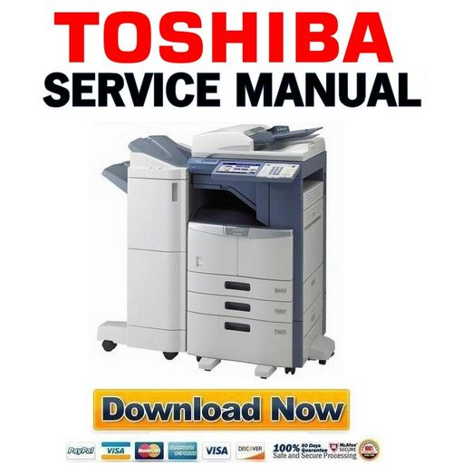 toshiba e studio 205l 255 305 355 455 service manual handbook p rh tradebit com Toshiba TV Service Manual Toshiba Satellite Laptops Manual