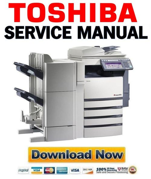 Pay for Toshiba e Studio 281c 351c 451c Service Manual + Service Handbook + Parts List Catalog