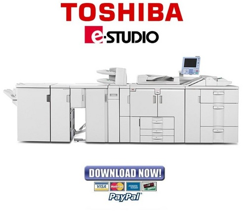 Pay for Toshiba e-Studio 901 1101 1351 Service Manual & Repair Guide + Parts List Catalog