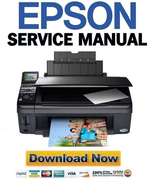 Pay for Epson Stylus CX8300 CX8400 DX8400 Service Manual & Repair Guide