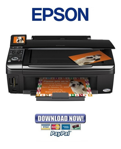 Pay for Epson Stylus NX400 + NX200 Service Manual & Repair Guide