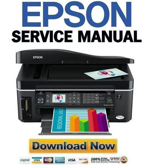 Epson Workforce 600 Service Manual  U0026 Repair Guide