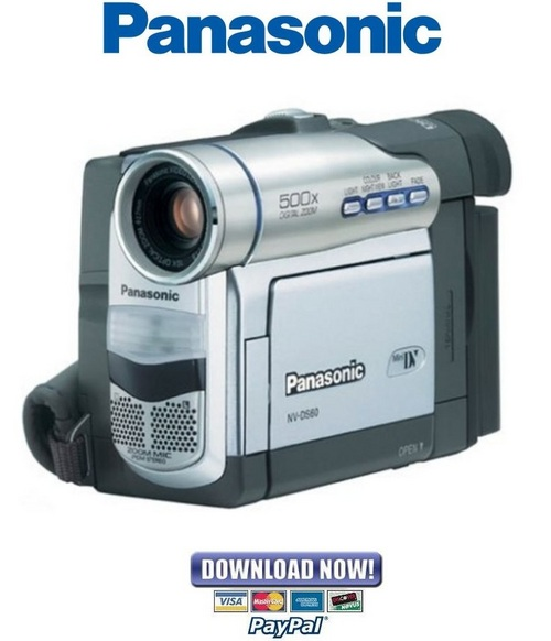 panasonic nv ds65 manual pdf