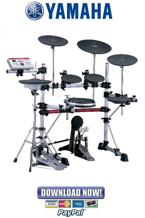 yamaha dtp4k2sp dtp4k2std drum set service manual repair guide rh tradebit com Yamaha Electronic Drums Yamaha DTX900