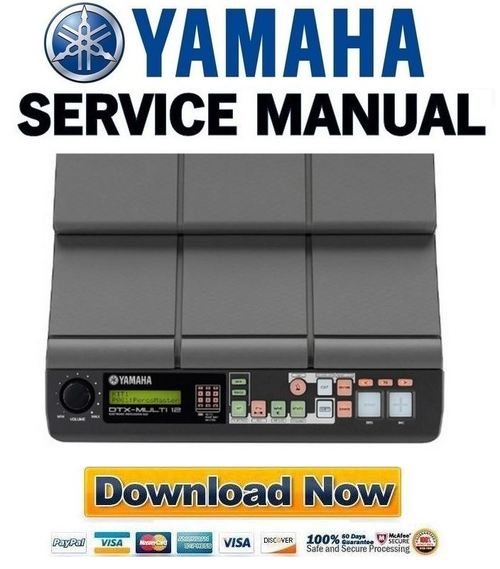 yamaha dtx multi 12 service manual repair guide download manual rh tradebit com yamaha dt 50 r service manual pdf Yamaha DTX900