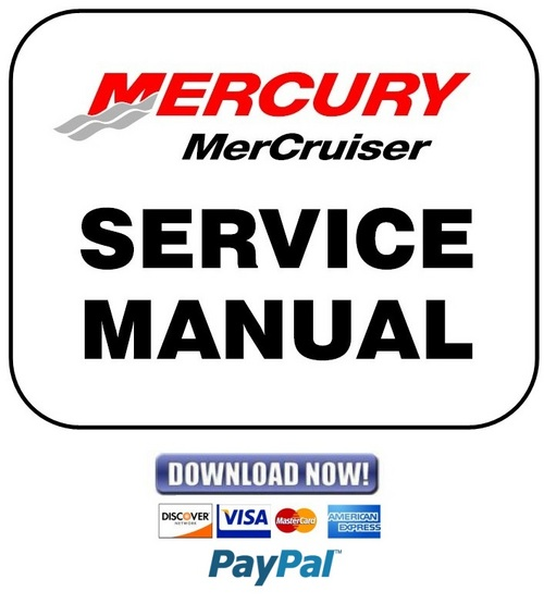 Pay for Mercury Mercruiser GM V-6 262 CID 4.3L Gen II (2) Balance Shaft Service Repair Manual & Workshop Guide