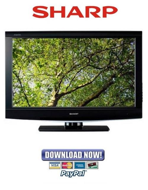sharp lc 32d47u 32sb27u c3237u service manual repair guide rh tradebit com Sharp ManualsOnline sharp lc-c3237u manual
