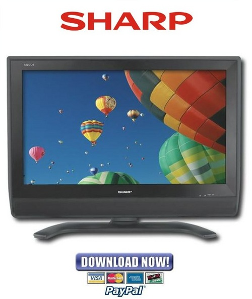 Pay for Sharp LC-37D40U + 45D40U Service Manual & Repair Guide