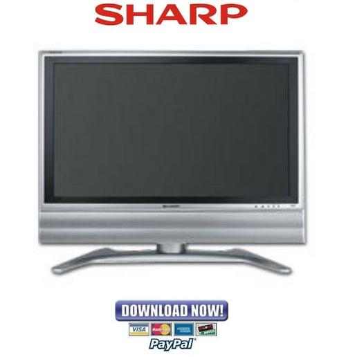 sharp aquos tv troubleshooting manual