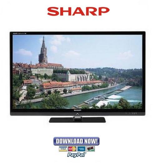 sharp lc 40le830u 46le830u 52le830u 60le830u service manual rh tradebit com Sharp ER-A170 KB Sharp 6525P5