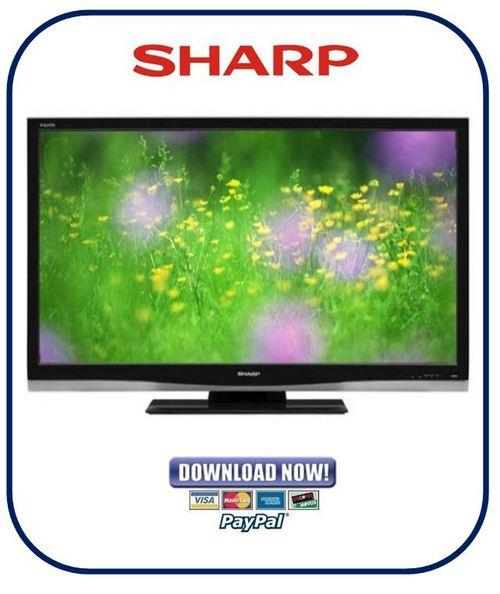 Pay for Sharp LC-42SB45UT Service Manual & Repair Guide