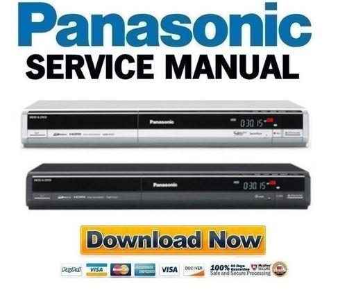 panasonic dmr eh57 series service manual repair guide download rh tradebit com panasonic dmr-ez47v manual panasonic dmr-ex77 manual