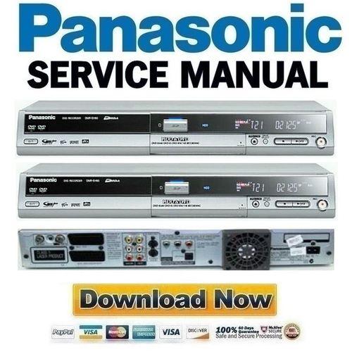 Pay for Panasonic DMR-EH60 Series Service Manual & Repair Guide