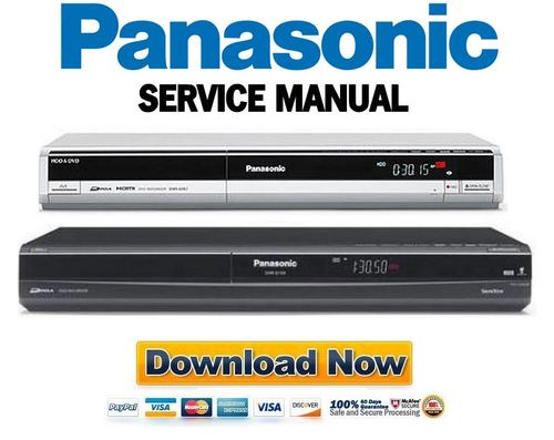 panasonic vdr m30 series service manual and repair guide. Black Bedroom Furniture Sets. Home Design Ideas