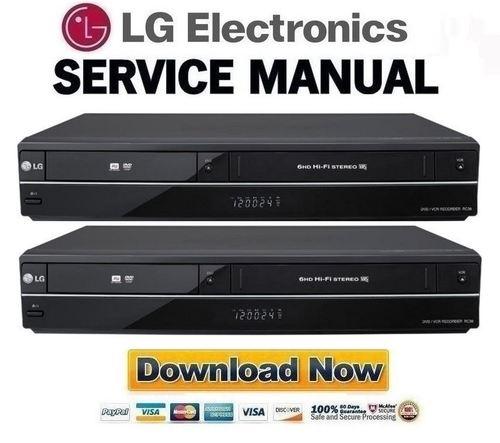 LG RC389H Service Manual & Repair Guide